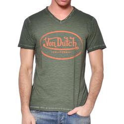 Textil Homem T-Shirt mangas curtas Von Dutch  Verde