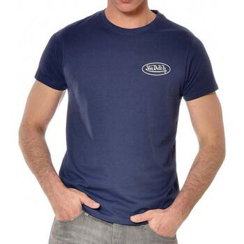 Textil Homem T-Shirt mangas curtas Von Dutch  Azul