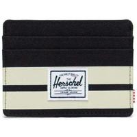 Malas Carteira Herschel Herschel Charlie RFID Black/Birch Stripe