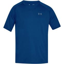 Textil Homem T-Shirt mangas curtas Under Armour UA005 Royal Blue/Graphite