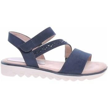 Sapatos Mulher Sandálias Jana 882866126805 Azul marinho