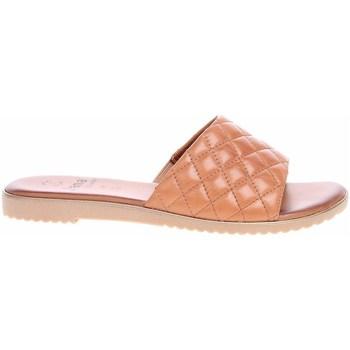 Sapatos Mulher Chinelos Jana 882710626305 Cor bege