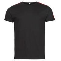 Textil Homem T-Shirt mangas curtas Yurban  Preto