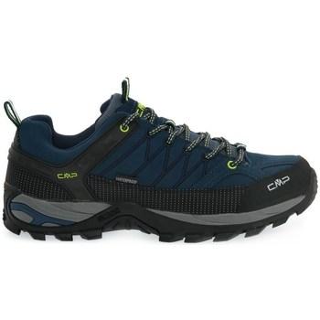 Sapatos Homem Sapatos de caminhada Cmp Rigel Low Preto, Azul marinho