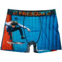 Roupa de interior Homem Boxer Freegun  Azul