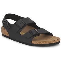 Sapatos Homem Sandálias Birkenstock MILANO Preto