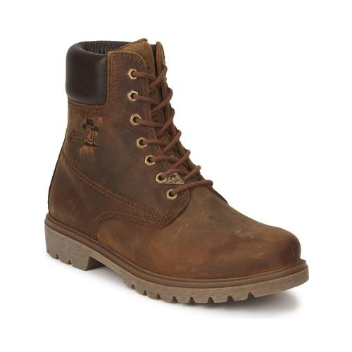 Sapatos Homem Botas baixas Panama Jack PANAMA Castanho