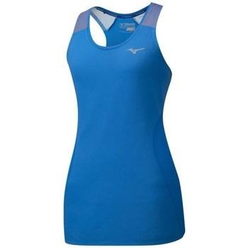 Textil Mulher Tops sem mangas Mizuno Aero Tank Azul