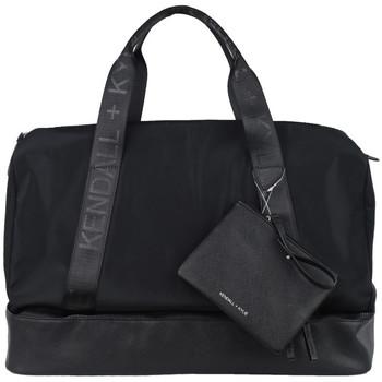 Malas Mulher Saco de desporto Kendall + Kylie Kendall + Kylie Weekender Bag HBKK-321-0008-3 Noir
