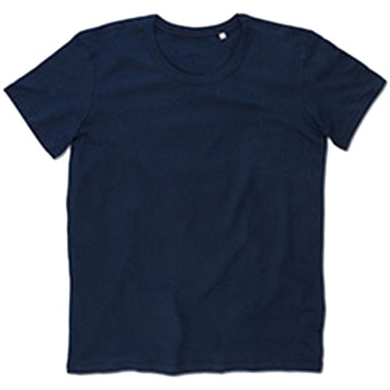 Textil Homem T-Shirt mangas curtas Stedman Stars Stars Azul