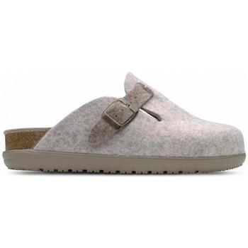 Sapatos Mulher Chinelos Feliz Caminar Zueco de Hogar DOMUS Castanho
