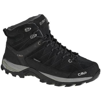 Sapatos Homem Sapatos de caminhada Cmp Rigel Mid Noir