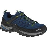 Sapatos Homem Sapatos de caminhada Cmp Rigel Low Bleu