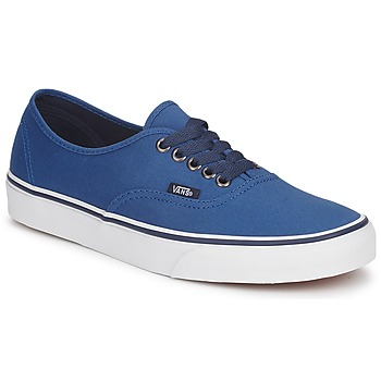 Sapatos Sapatilhas Vans AUTHENTIC Azul / Escuro