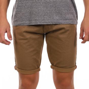 Textil Homem Shorts / Bermudas La Maison Blaggio  Castanho