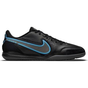 Sapatos Homem Chuteiras Nike Tiempo Legend 9 Academy IC Preto