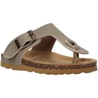 Sapatos Criança Chinelos Bionatura 22B 1010 Cinzento