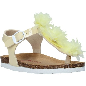 Sapatos Rapariga Sandálias Bionatura 22B 1007 Amarelo