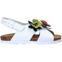 Sapatos Rapariga Sandálias Bionatura 22B 1047 Branco