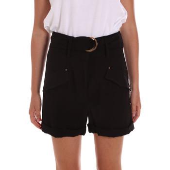 Textil Mulher Shorts / Bermudas Gaudi 111BD25033 Preto