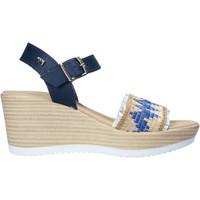 Sapatos Mulher Sandálias Valleverde 32422 Azul
