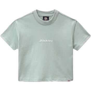 Textil Mulher T-Shirt mangas curtas Dickies DK0A4XBAB871 Verde