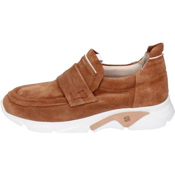 Sapatos Homem Slip on Moma BH796 Castanho