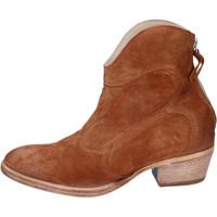Sapatos Mulher Botins Moma BH809 Castanho
