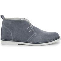 Sapatos Homem Botas baixas Duca Di Morrone - 233d_camoscio Cinza