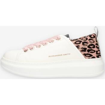 Sapatos Mulher Sapatilhas Alexander Smith E113211 Rosa
