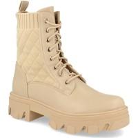 Sapatos Mulher Botins Ainy 9390 Beige