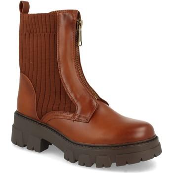 Sapatos Mulher Botins Ainy 8723 Camel