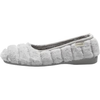 Sapatos Mulher Chinelos Grunland - Pantofola grigio PA0685 GRIGIO