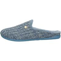 Sapatos Mulher Chinelos Grunland - Pantofola azzurro CI2409 AZZURRO