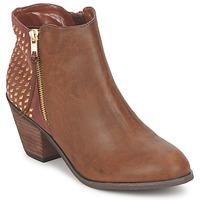 Sapatos Mulher Botins Blink MARA Camel
