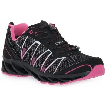 Sapatos Criança Sapatos de caminhada Cmp Altak WP Preto, Cor-de-rosa
