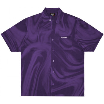 Textil Homem Camisas mangas curtas Jacker Purple potion Violeta