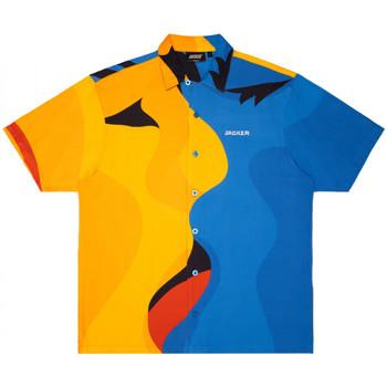 Textil Homem Camisas mangas curtas Jacker Color passion Multicolor