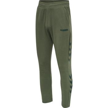 Textil Homem Calças de treino Hummel Jogging  hmlLegacy Tapered vert/noir