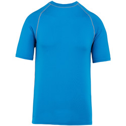Textil T-Shirt mangas curtas Proact PA4007 Aqua