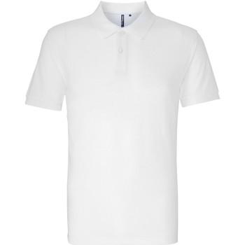 Textil Homem Polos mangas curta Asquith & Fox AQ082 Branco