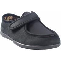 Sapatos Homem Chinelos Garzon Vá para casa cavalheiro  6870.244 preto Preto