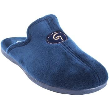 Sapatos Homem Chinelos Garzon Vá para casa cavalheiro  6101.247 azul Azul
