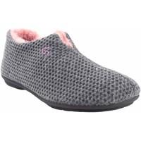 Sapatos Mulher Chinelos Garzon Vá para casa Sra.  5821.291 cinza Cinza