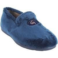 Sapatos Homem Chinelos Garzon Passe em casa cavalheiro  6501.275 azul Azul