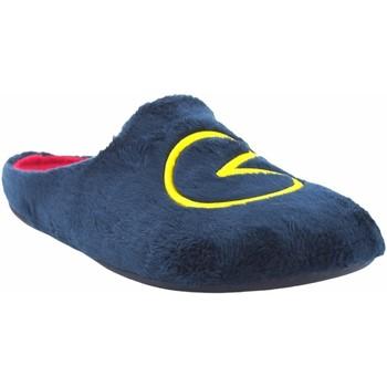 Sapatos Homem Chinelos Garzon Vá para casa cavalheiro  8304.275 azul Azul