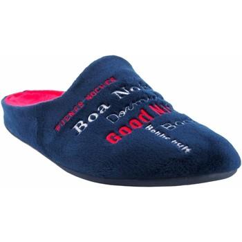 Sapatos Homem Chinelos Garzon Vá para casa cavalheiro  8317.247 azul Vermelho