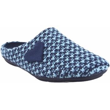 Sapatos Mulher Chinelos Garzon Vá para casa Sra.  5501.345 azul Azul