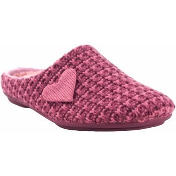 Sapatos Mulher Chinelos Garzon Vá para casa Sra.  5501.345 malva Rosa