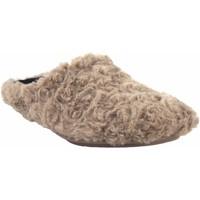 Sapatos Mulher Chinelos Garzon Vá para casa Sra.  5500.323 taupe Castanho